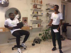 Salon de coiffure pour cheveux afros à Lausanne